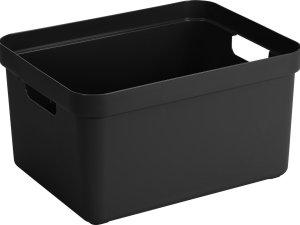 Sunware Sigma Home Opbergbox 32L - zwart - 45,3 x 35,4 x 24,3 cm