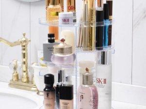 TENTA® Make up organizer - opbergbox - make up - organizer - make up set transparant