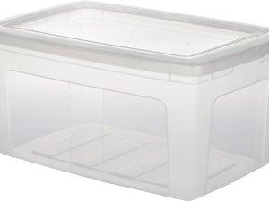 IRIS Clearbox Opbergbox - 50 l - Kunststof - Transparant