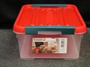 Allibert Handy 12 liter stapelbare opbergbox 8 stuks