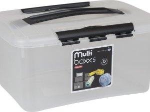Curver Optima Opbergbox met deksel - 5L - Kunststof - Transparant