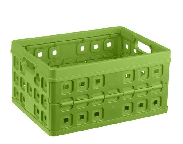 Sunware vouwkrat 32 ltr groen