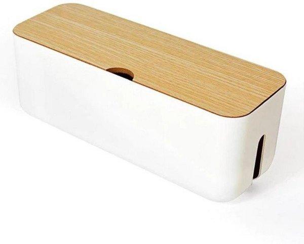 KabelBox Opbergbox Wit
