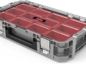 Kis Bi-box - Opbergbox - M - Blauw - 26 Liter - 55x35xh19cm - (Set van 7) En Yourkitchen E-kookboek - Heerlijke Smulrecepten