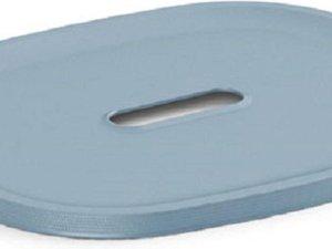 Kis Filo - Opbergbox - Misty Blue - 34,5x26xh6cm - (set van 4) En Yourkitchen E-kookboek - Heerlijke Smulrecepten