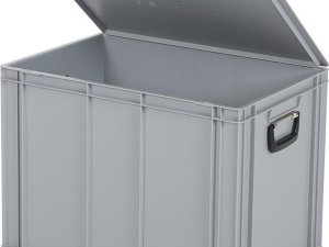 Koffer - Opbergbox - 600x400xH439mm - grijs
