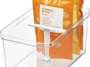 Opbergbox met T-handvat iDesign - Crisp | stapelbaar