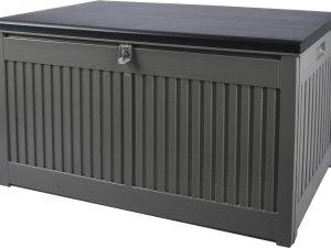Vertak opbergbox tuinkussenbox-270 L-Antraciet- 109x51x54 cm