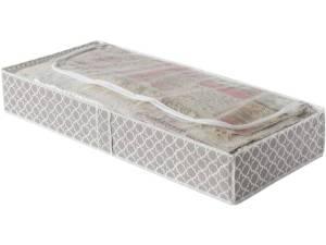 Compactor Opbergbox 107 Cm Polypropyleen Bruin/wit
