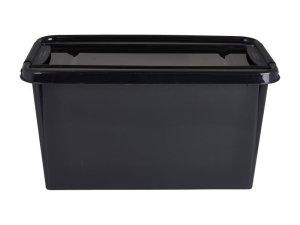 Opbergbox recycle - Zwart - 70L