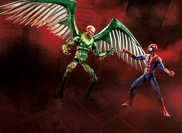 Ultimate Vulture vs. Ultimate Spiderman Walmart Exclusive