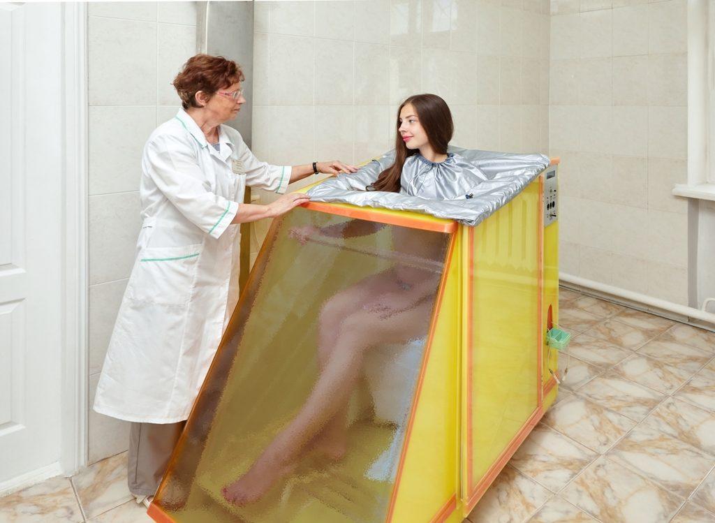 Радоновые ванны после инфаркта