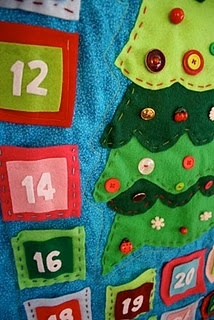home made advent calender