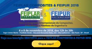 FEIPLAR COMPOSITES & FEIPUR ocorre entre os dias 6 e 8 de novembro