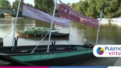 Foto de Barcos de plástico reciclado contribuem com o meio ambiente