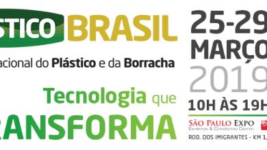Foto de Plástico Brasil 2019 amplia participação de expositores internacionais