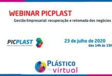 Foto de PICPlast promove webinar para retomada nos negócios