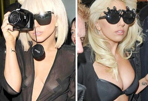 Lady Gaga Breast Implants