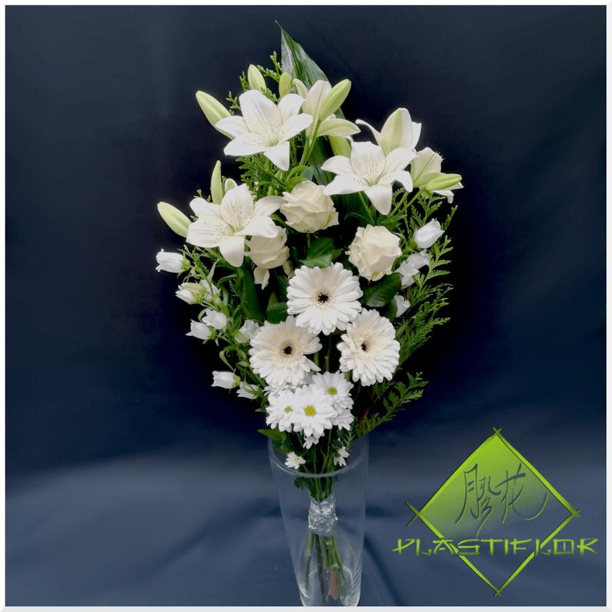 Bouquet funéraire Persée 2 ©Plastiflor
