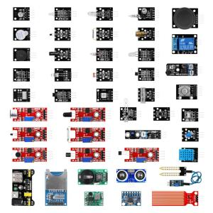 45 sensores Para Arduino Kit de módulos