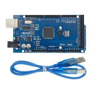ARDUINO MEGA 2560 R3 (Placa de desarrollo USB) (ATmega2560-16AU CH340G) AVR, MEGA2560