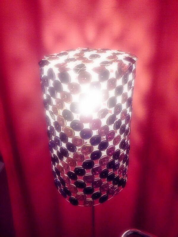 Crashed Coffee Pad Lamp