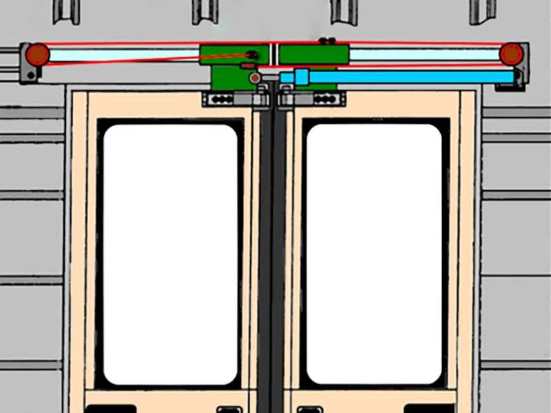 Дверной цилиндр и ролики