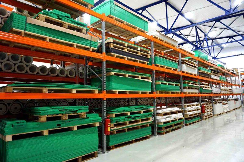 Склад готовой продукции Plastmass Group