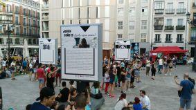 ¿Quién coño es? en la plaza de Pedro Zerolo