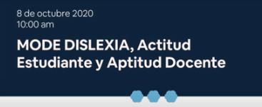 UCM con la Dislexia