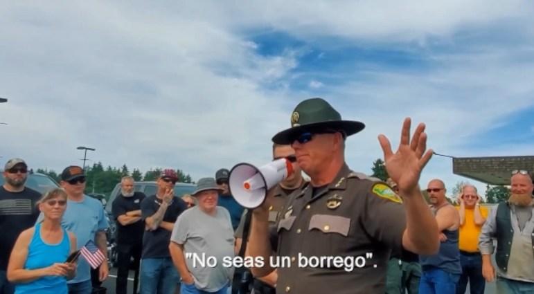 Alguacil del condado de Lewos pide no ser booregos