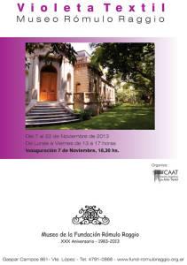 Violeta Textil Recoleta  - Museo Raggio