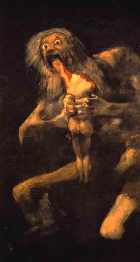 Cronos, Goya.