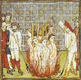 Templarios en la hoguera