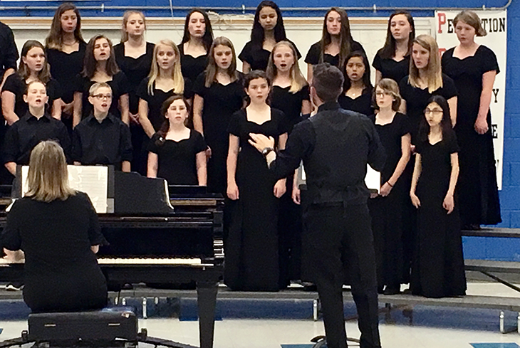 Summit Charter School chorus sweeps competition at Carowinds