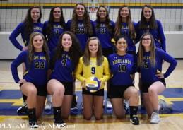 Highlands.volleyball.V.team