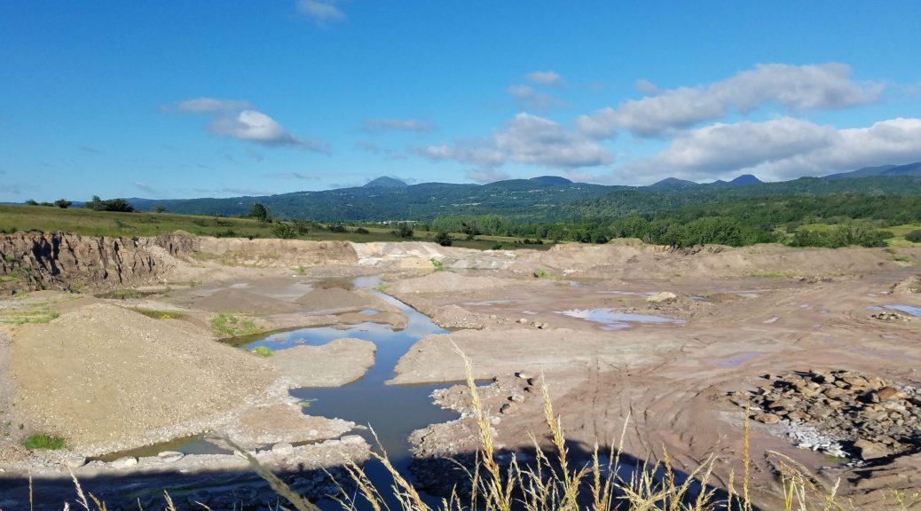 Plateau Lachaud - Photo-montage Carrière - Juin 2020