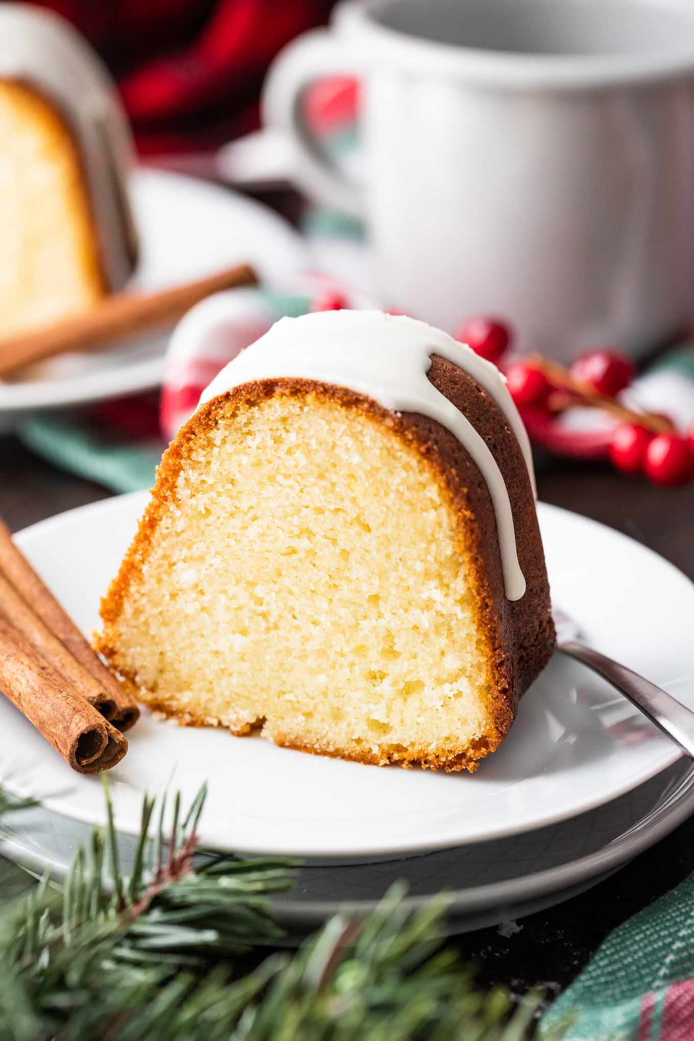 Eggnog Cake Easy From Scratch Recipe Plated Cravings