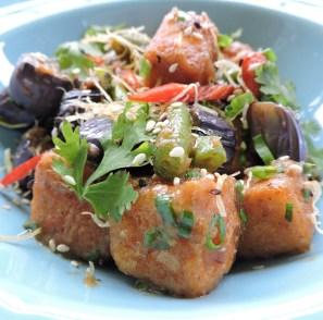 Chilli Eggplant and Tofu