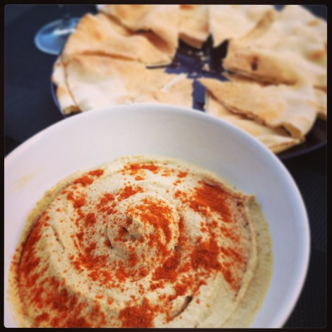 Homemade Hummus