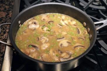Chicken Marsala sauce