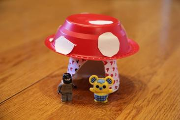 Mushroom Village house
