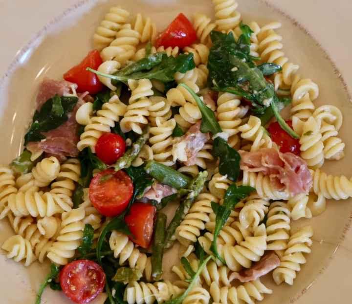 Summer Asparagus Pasta
