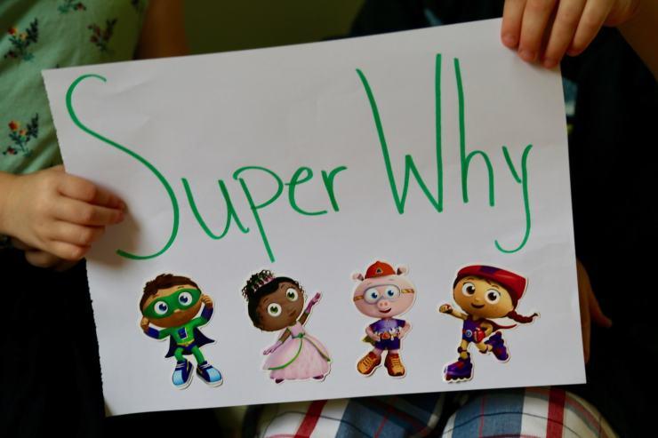 Sign of Super Why