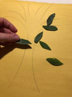 Making Yellow Food Scrap Craft 1