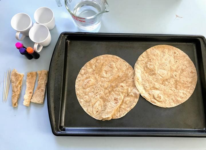 Supplies for tortilla art