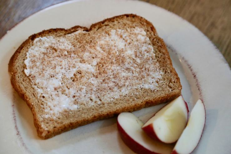 bread butter sugar snack