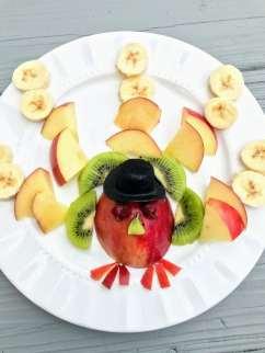 Turkey Fruit Plate 2