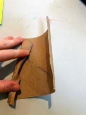 folding toilet paper roll