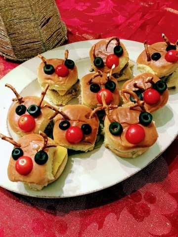 Reindeer Turkey Sliders